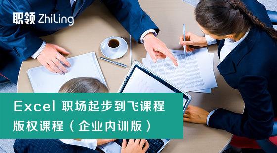 Excel2016职场从起步到飞(企业内训)