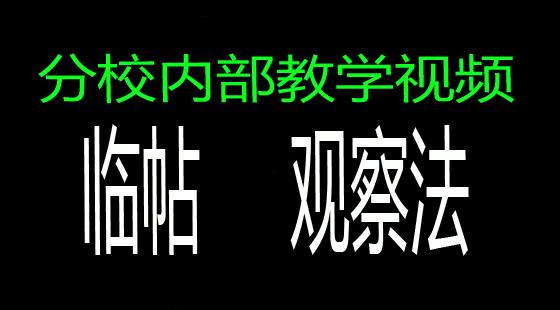 【分校课堂教学专区】:《陈翔四力法》初级课程A类课程
