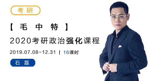 2020考研政治强化-毛中特-石磊